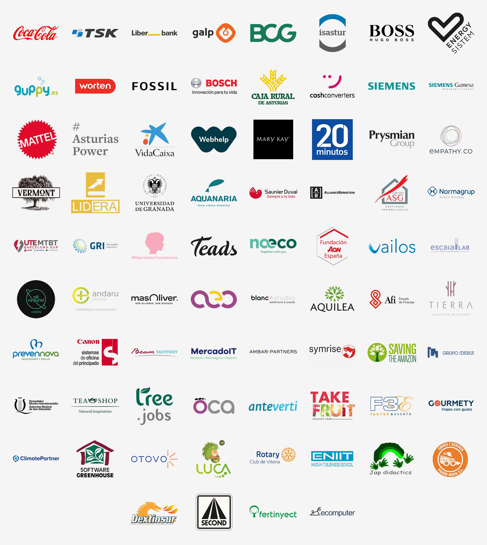 Empresas que plantan bosques con Bosquia